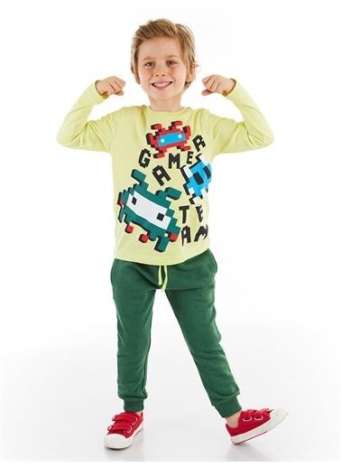 Denokids Game Team Erkek Çocuk Pantolon Takım Renkli